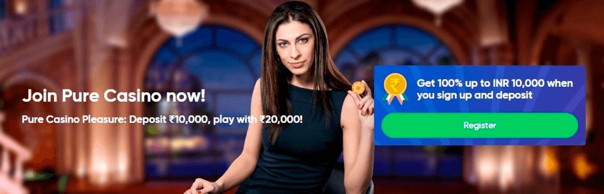Online-Casinos-India-pure-casino-banner
