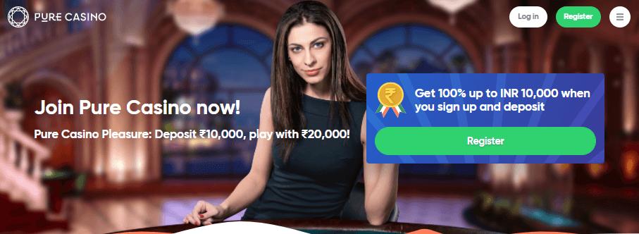 Pure-casino-banner