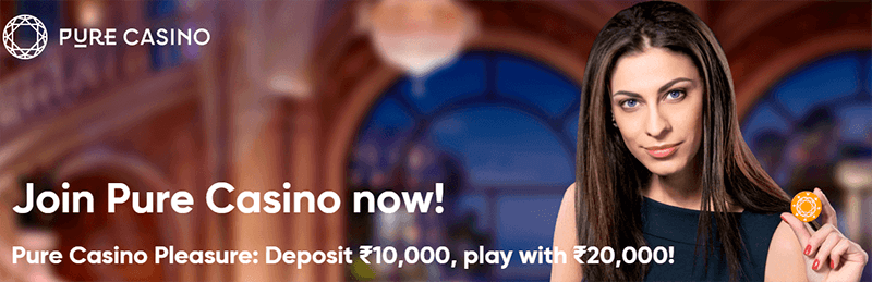 pure-casino-welcome-bonus