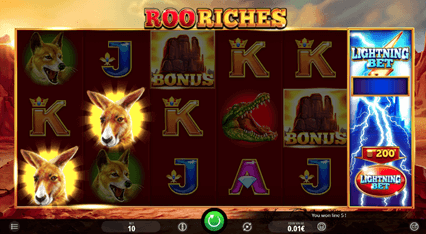 Roo riches at 10Cric Casino