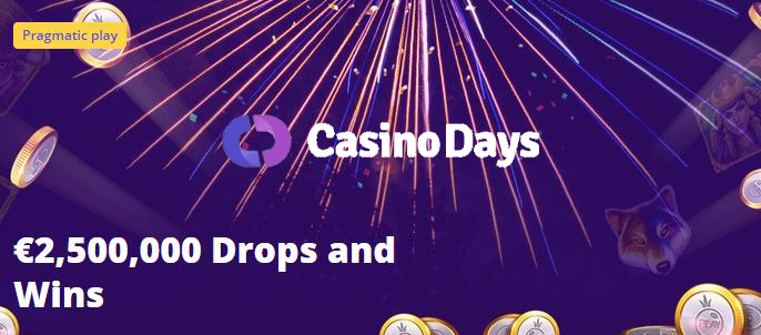 Daily drops and wins Casino Days