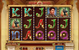 Genesis casino game - Book of Dead